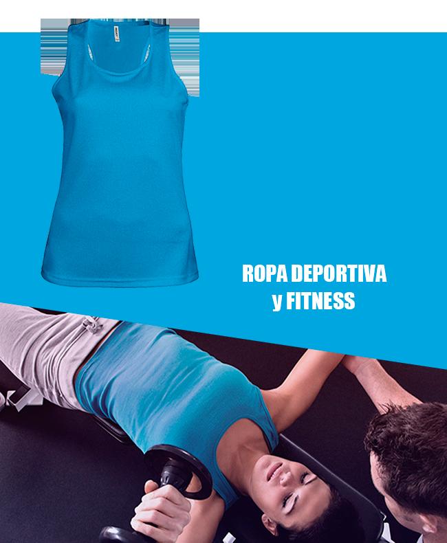 ropa gimnasio fitness catalogo