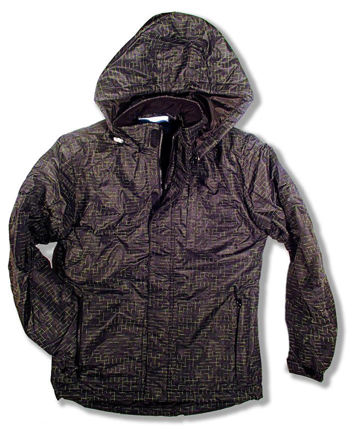 parka alphadventure anorak abrigo oscura