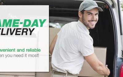 Same-day delivery: entregar en el día