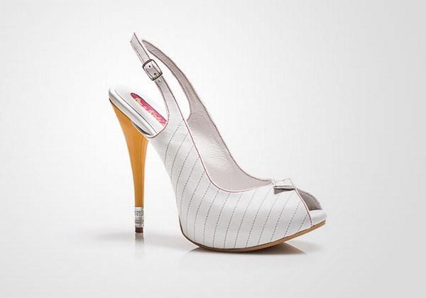 zapatos tacon forma lapiz