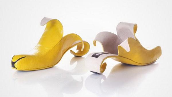 zapatos tacon forma platano
