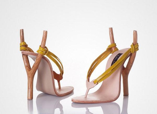 zapatos tacon forma tirachinas