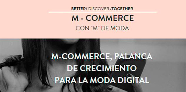 M-Commerce con M de Moda Barcelona 2015