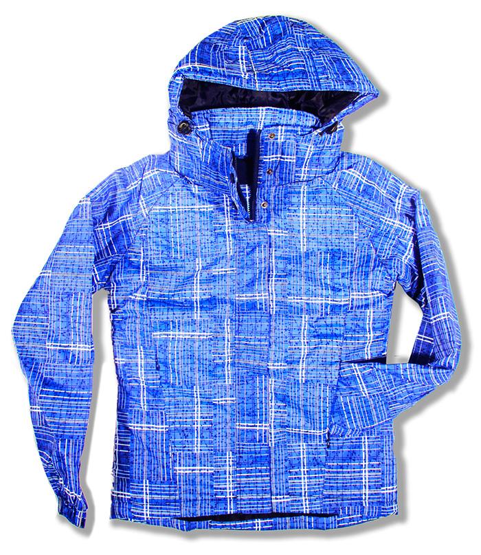 parka alphadventure anorak abrigo azul