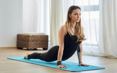 Ropa de mujer para practicar yoga