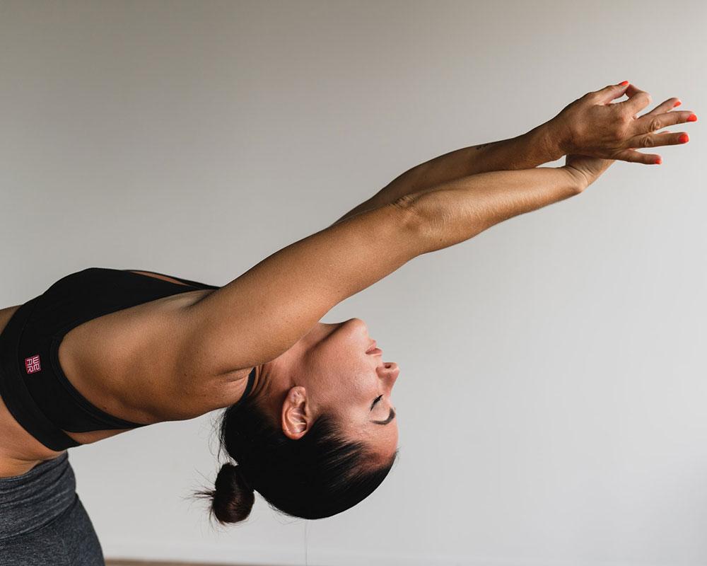 top sujetador deportivo ropa yoga